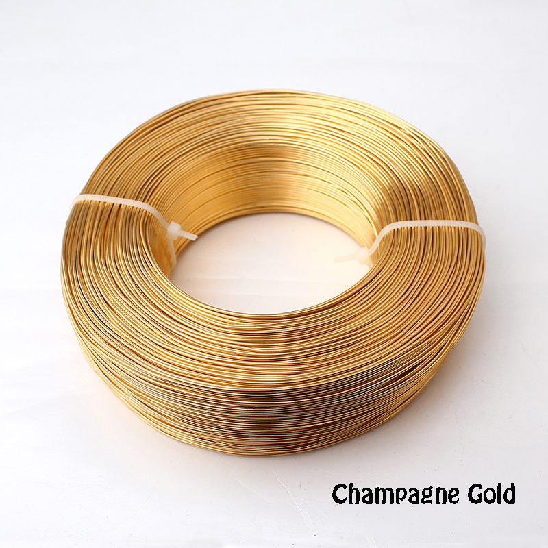 colored anodized aluminium wire jewelry craft soft 1/2kg 1mm 18 ...