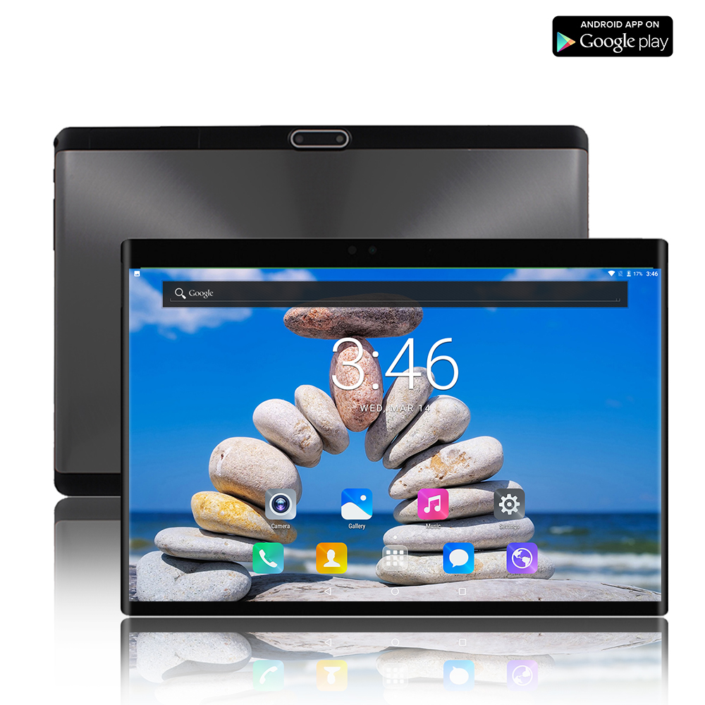 10.1 Inch Tablets Android 8.0 Inch 1280*800 6GB RAM 64GB ROM Dual Cmaer Dual SIM Card Octa Core Tablet PC GPS A-GPS 10 + Gift