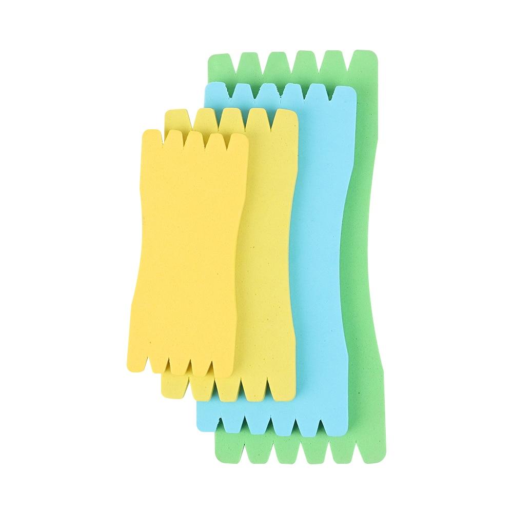 Rehomy Fishing Line Plate Foam Sponge Fishing Winding Line Board Fishing Accessories 10Pcs//lot
