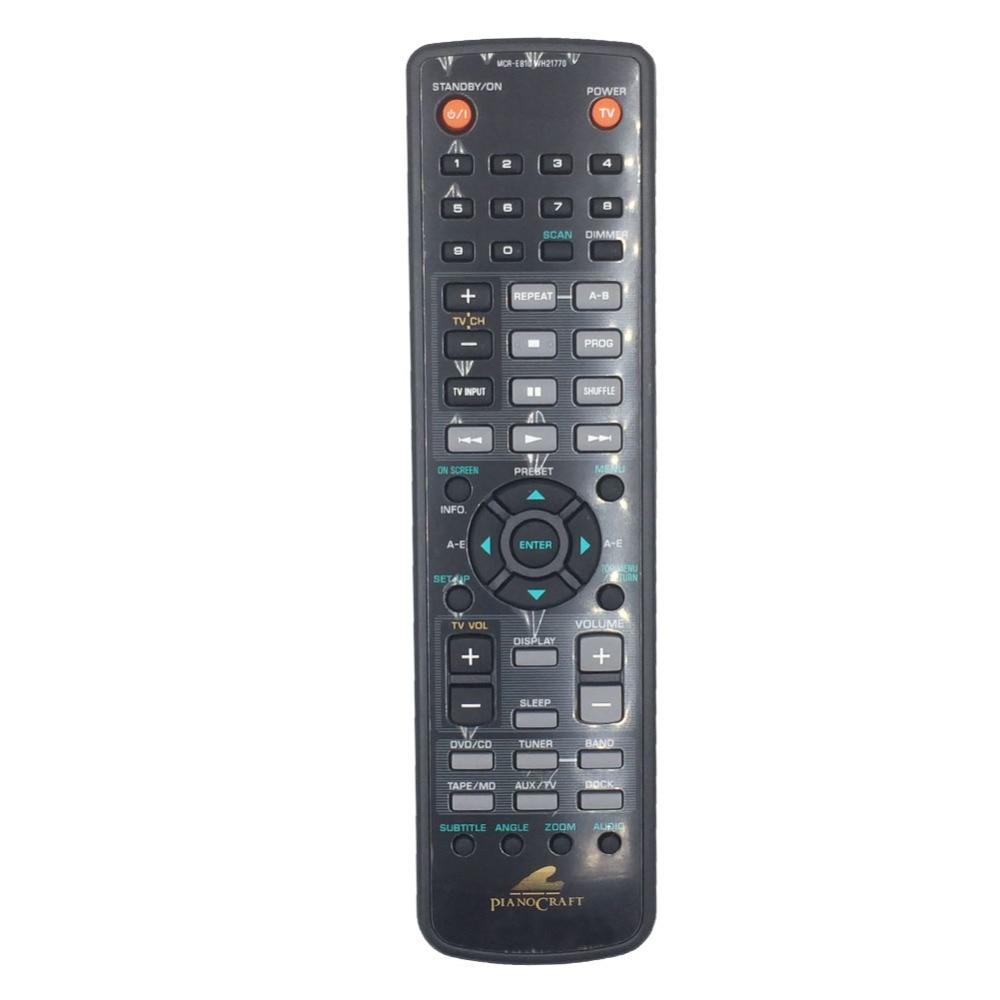 WH21770 Remote Control For Yamaha PianoCraft Receiver/DVD Player Ampli Tuner Lecteur de DVD MCR-E810 RX-E810 DVD-E810 NX-E800 universal remote control suitable for yamaha rav22 wg70720 home theater amplifier cd dvd rx v350 rx v357 rx v359 htr5830
