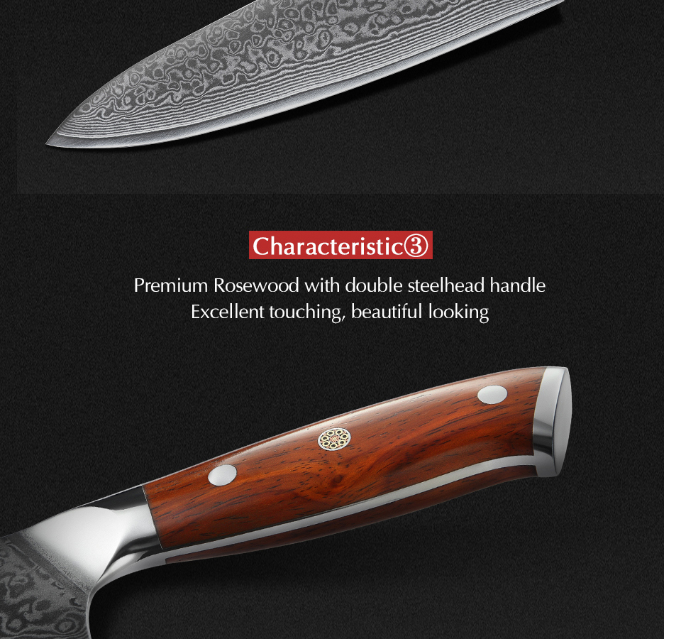 HTB1Eqm1a5YrK1Rjy0Fdq6ACvVXaU - 8.5 inch Chef Knives High Carbon VG10 Japanese 67layer Damascus Kitchen Knife Stainless Steel