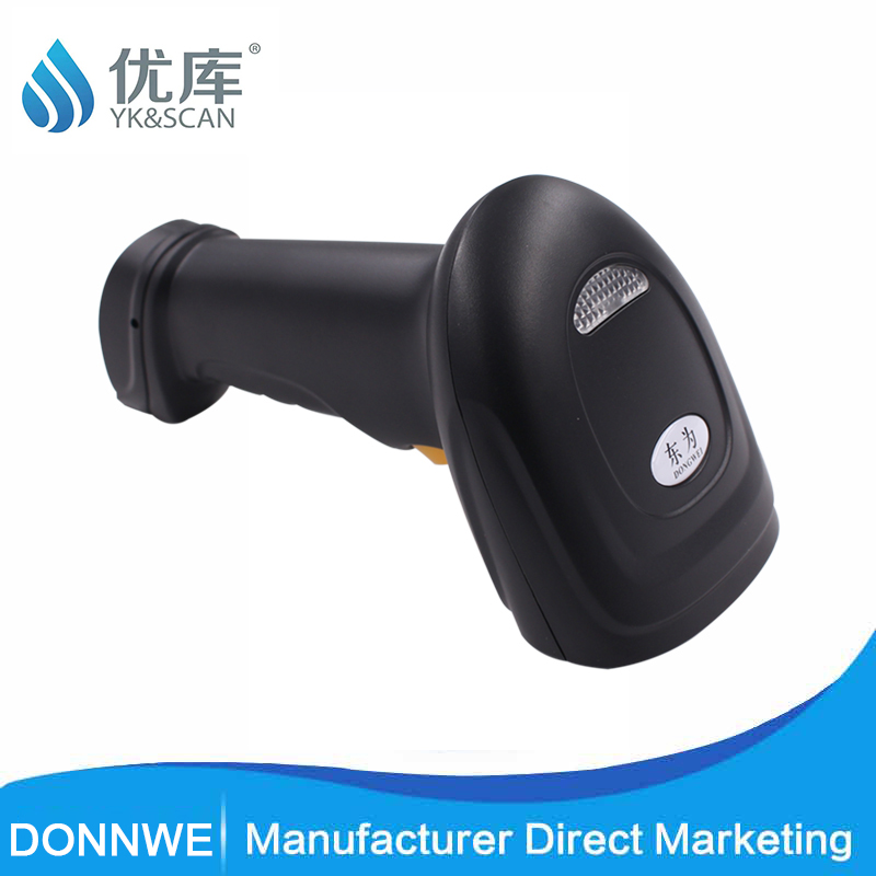 Automatic Barcode Scanner 100 Scans/second 650nm Visibility Laser Two Stage Tube Scanner 4.5mil Manual USB Bar Code Scanner