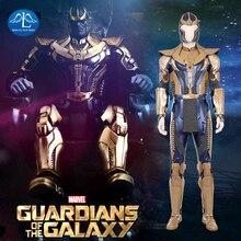 2018 New Movie Avengers Infinity War Cosplay Costume Men Thanos Cosplay Costume Halloween Costumes For Men Full Set Custom Made цена 2017