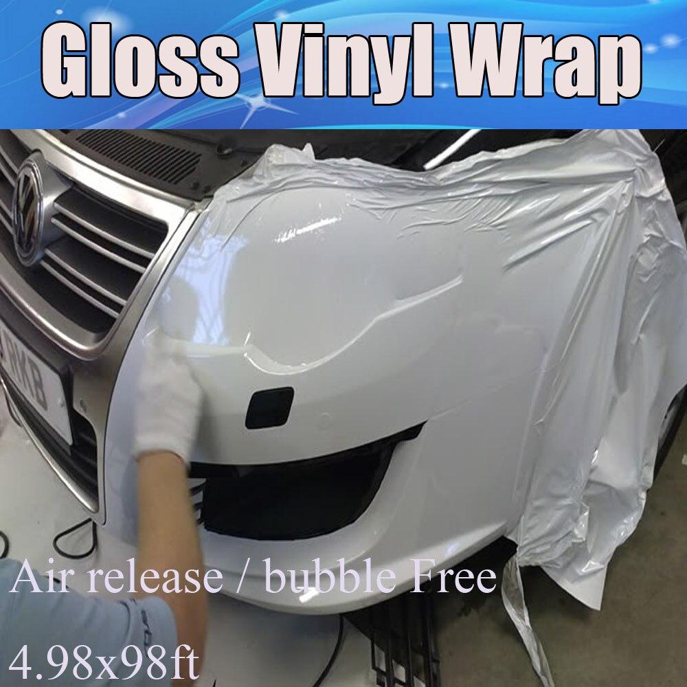 Online kopen Wholesale gloss wit vinyl wrap uit China gloss wit ...