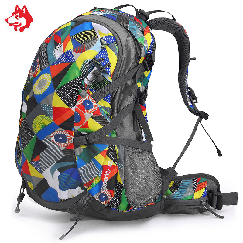 Brand 32L Outdoor Sports Hiking Walking Backpacks Bag For Mochila Camping Climbing Cycling Travel Backpack Bags