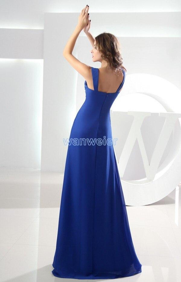 c8845ce51b081 free shipping maxi long 2016 chiffon modest royal blue pregnant ...
