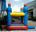 high quality PVC tarpaulin  mini inflatable bouncer  wonderful for small kids fun in stock inflatable toy