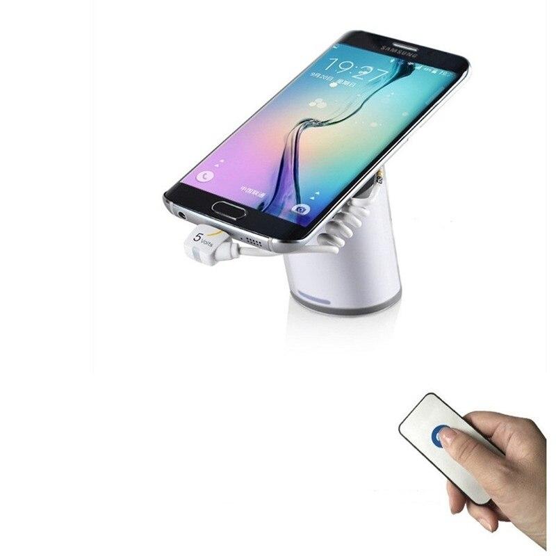 10x Teléfono Móvil Tablet Pad Pantalla Gripper Anti-robo Soporte Alarmas Para Smartphone Tienda De Venta Al Por Menor Soporte De Carga De Seguridad