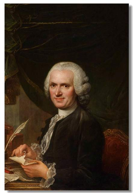 Custom Canvas Wall Decals The Dream Painting Poster Jean Jacques Rousseau Wallpaper Vintage Sticker Mural Cafe Decoration 0301