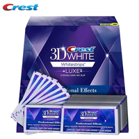 1Box 40Strips 20 Pouches Crest 3D Whitestrips LUXE Professional Effects Teeth Whitening Dental Oral Hygiene