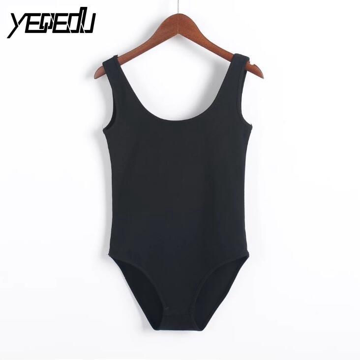 # 2118 2019 Bodys, Frauen, ärmellose Body-Femme-Body-Anzüge, - Damenbekleidung - Foto 1