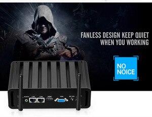 Image 4 - YCSD Fanless Mini PC Intel Core i7 5500U Windows 10 Linux 2*Gigabit Ethernet 2*RS232 DB9 4*USB 300Mbps WiFi Nettop NUC
