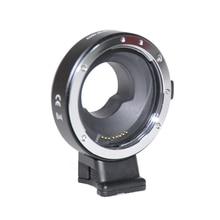 Jintu электронная диафрагма управления адаптер ef-mft для canon eos ef ef-s объектив микро 4/3 m4/3 gh3 gh4 камера