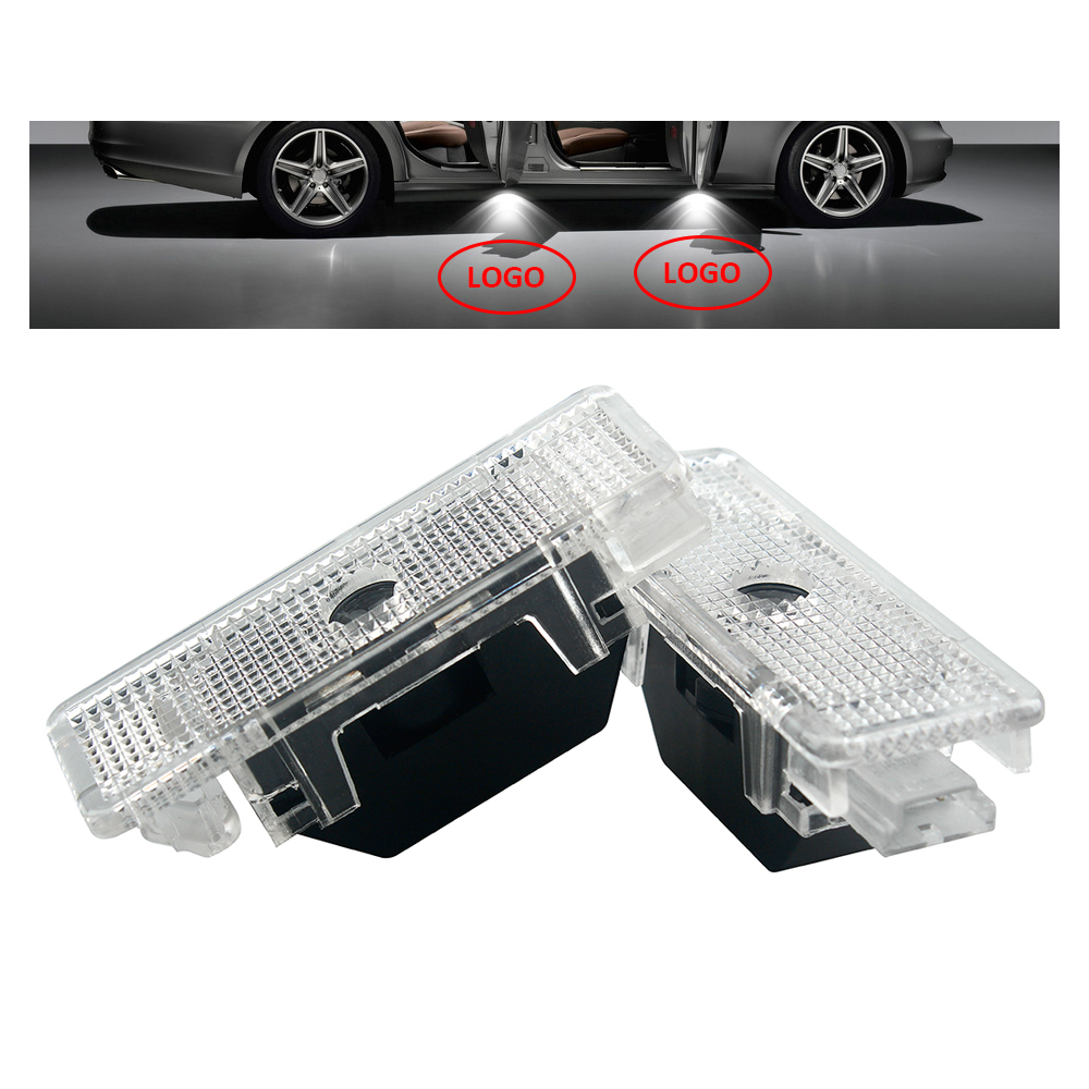 2Pcs / Set LED Car Door light Courtesy Laser Projector Logo Ghost Shadow Light for BMW X5 E53 E39 Z8