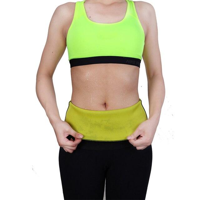 Sweat Belt Neoprene Body Shaper Slimming Belts for Women Waist Trainer Cincher Underbust Corset Trimmer Tummy Control Binder 3