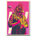 Wall Decor Hotline Miami Art Silk Poster Print 12x18 24x36 inch Vintage Action Game Pictures for Living Room Wall Decor 001