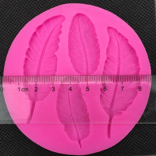 Fondant Silicone Feather Mold