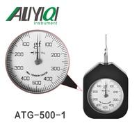 Aliyiqi 500N Dial Tension Gauge Meter Single Pointer ATG 500 1tensiometro tooth type Force Measuring Instruments Tools -