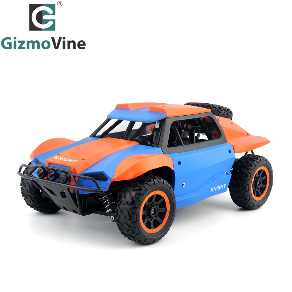 GizmoVine 1/18 RC Car 2.4G 4CH 4WD Rock Crawlers Driving Car Bigfoot Car Remote Control Car Model Off-Road Vehicle Toy