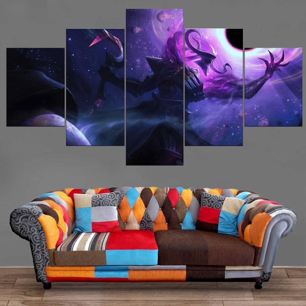 League of Legend Home Decorations Artwork 5 Stuks Dark Star Thresh - Huisdecoratie