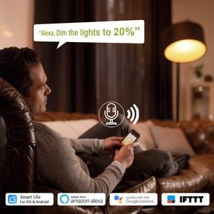Image 5 - Thông Minh Công Tắc Đèn Mờ Cho Mờ Đèn LED, WiFi Công Tắc Đèn Hoạt Động Với Alexa Và Google Trợ Lý Đèn Kết Nối Công Tắc