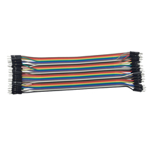Raspberry Pi 3 Model B Dupont Line Male To Male 40Pcs 30cm 2.54mm 1p-1p pin Dupont Wire Cable Line Connector For Orange Pi Plus