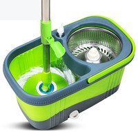Household Magic Spin Mop Bucket Kitchen Bathroom Cleaning Tools Double Drive Hand Pressure Rotating Mop Cleaning Mop Bucket