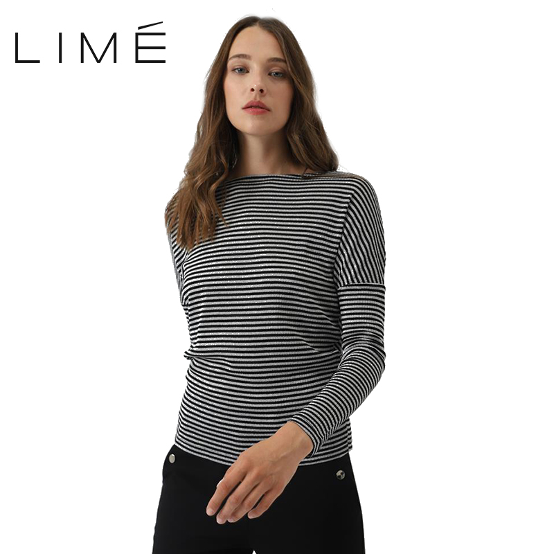 Фото - Striped T shirt LIME 283|1584|854 striped knotted front cuffed shirt with chest pocket