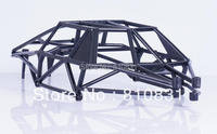 Freeshipping Baja 5T 5SC black plastic cage full protection roll cage Frame