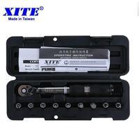 XITE Bicycle bike tools kit set tool bike repair spanner 1/4DR 2 14Nm torque wrench Bicycle Repair Tools 1 25NM 2 20NM