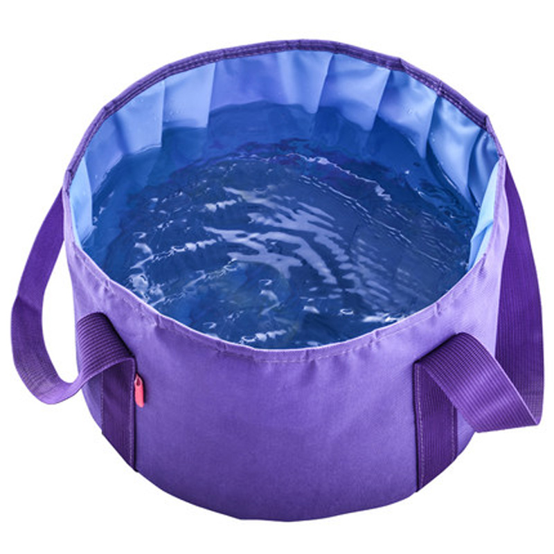 Outdoor Portable Folding Water Pot Camping Bucket Collapsible Washing Basin