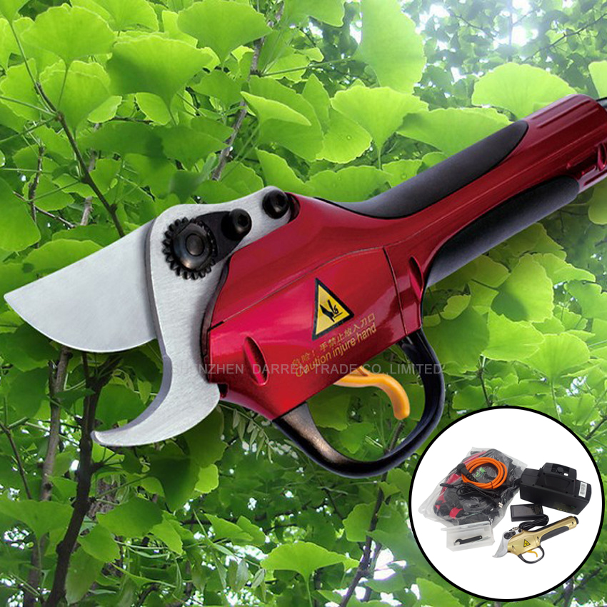 цена Electrical Pruning Shears SCA2-2 battery pruning shears 0.35 seconds/time Electric Pruner For Vineyard/Orchard/gardens pruner