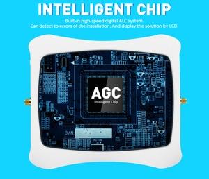 Image 3 - GSM WCDMA LTE الهاتف المحمول إشارة الداعم 3G 4G LTE 1800 2100 ثنائي النطاق هاتف محمول مكرر إشارة الخلوية مكبر للصوت للمنزل