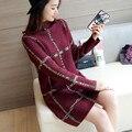 4329-2016 Корейский Новых женщин свитер 55