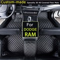 For Dodge RAM 1500 2500 3500 4500 5500 Car Floor Mats Customized Foot Rugs Custom Carpets Car Styling
