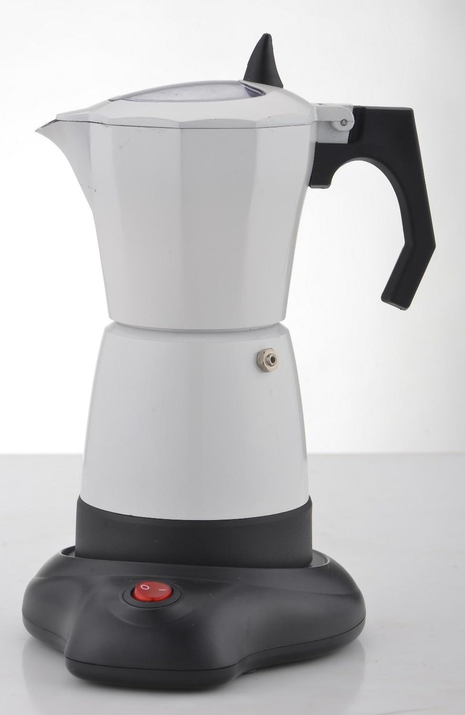Electric espresso mocha  coffee maker/ MOKA COFFEE POT/mocha coffee pot with high quality,and perfect gift for everyoneElectric espresso mocha  coffee maker/ MOKA COFFEE POT/mocha coffee pot with high quality,and perfect gift for everyone
