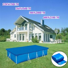 2019 Hot Sale Rectangular Swimming UV-resistant Pool Cover Waterproof Dustproof Durable Covers FG66