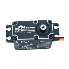 Wasserdicht JX BLS HV7146MG Servo 46KG Bürstenlosen Standard 8,4 V Präzision Stahl Getriebe Alum für 1/5 RC auto lkw hubschrauber roboter