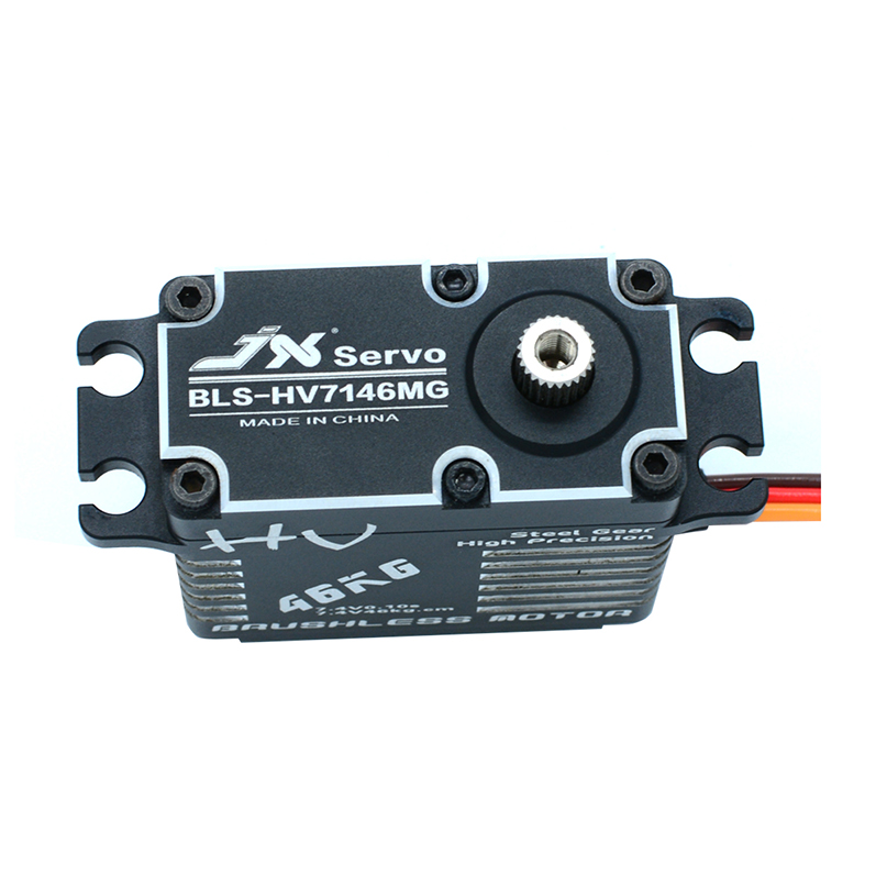 Waterproof JX BLS-HV7146MG Servo 46KG Brushless Standard 8.4V Precision Steel Gear Alum for 1/5 RC car truck helicopter Robot