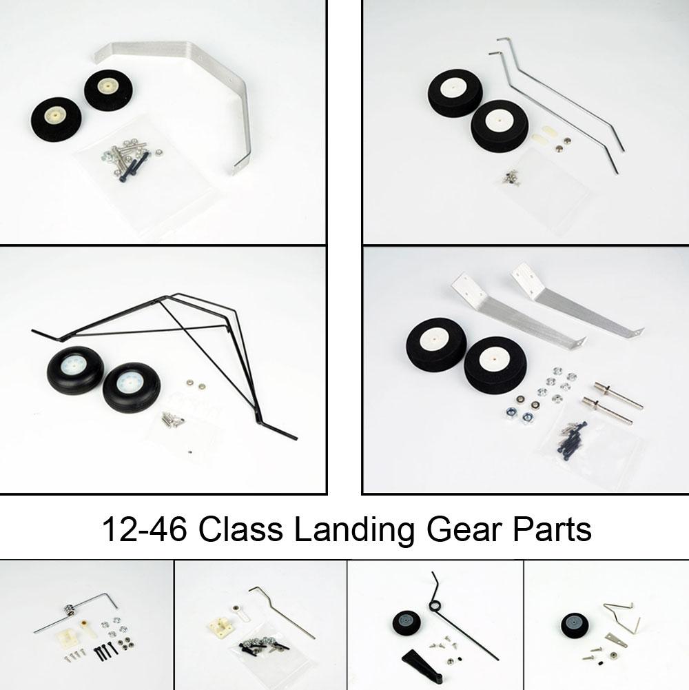Free Shipping 12-46 Class Landing Gear/Tail Landing Gear/Foam Wheel/PU Rubber Wheels for RC Plane Airplane Parts