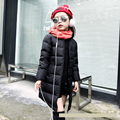 Girls Outerwear Children Down Winter Jacket For Girls Winter Coat Parkas Down Coat Long Style Kids Parkas Student Outdoor