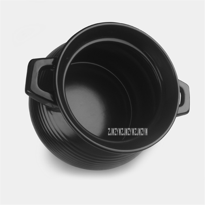 New Arrival Ceramic Stew Pot Casserole Heat-resistant High-temperature Casserole Braised Burning Home Cooking Pot 3.5L Hot Sale