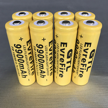 Cncool 3.7V 9900mah 18650 Battery lithium batteria rechargeable battery for flashlight Torch Accumulator Cells