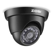 ZOSI caméra de Surveillance extérieur de sécurité HD TVI 1080P, 24 pièces, led IR, avec haute résolution infrarouge, résistant aux intempéries