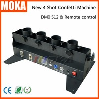 Свадебные конфетти машина конфетти пушки DMX 512 контроллер 4 держатель конфетти шутер Launcher машины