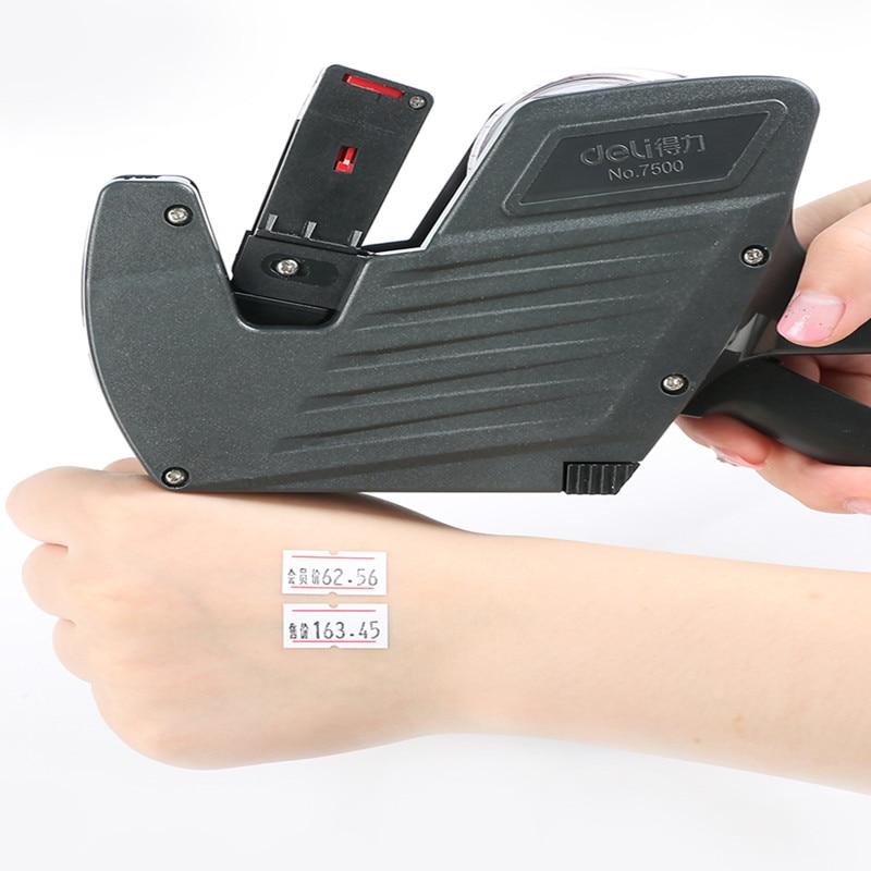 Imprimante de prix numérique | Combiné imprimante de prix de supermarché/imprimante manuelle de date de production, petit prix d'encre, imprimante d'étiquettes numériques