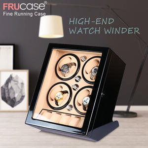 FRUCASE Winder-Box Automatic Watch Black 8--5 Power-Operated Ultra-Silence High-Finish
