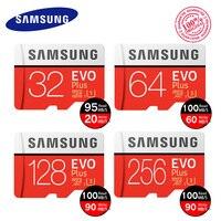 מקורי SAMSUNG EVO כרטיס זיכרון 16 gb מיקרו SD microsd 32 GB 64 GB U3 עד 100 MB/s 128 GB Class10 32 GB כרטיס זיכרון 256 gb