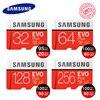 Original SAMSUNG EVO Memory Card 16gb Micro SD Microsd 32GB 64GB 128GB Class10 U3 Up To