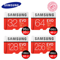 Original SAMSUNG EVO Memory Card 16gb Micro SD Microsd 32GB 64GB 128GB Class10 U3 Up To